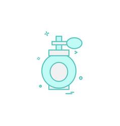 perfume icon design vector image