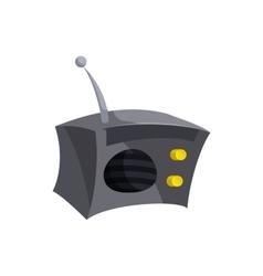 Radio icon cartoon style vector