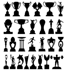 Trophies vector image