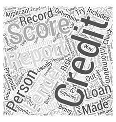 Understanding credit report score Word Cloud vector
