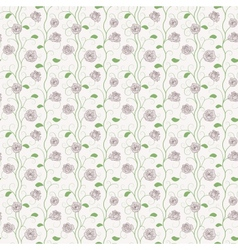 Floral Roses Pattern vector image vector image