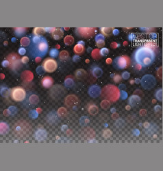 abstract bokeh blurred light element that can be vector image vector image