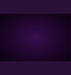 abstract purple black hexagonal background simple vector image vector image