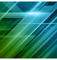 Abstract technology futuristic lines background ep vector image