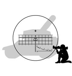 bazooka vector image