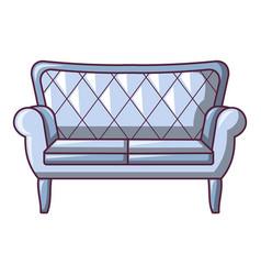 Chesterfield icon cartoon style vector