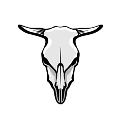 Cows skull vector
