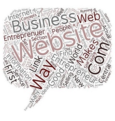 Entrepreneur com 1 text background wordcloud vector
