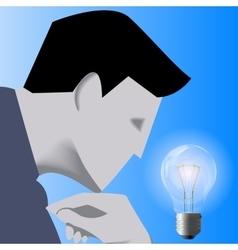 Idea born business concept vector