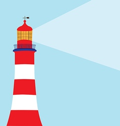 Lighthouse light vector