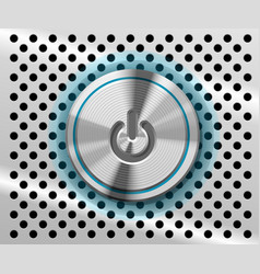 Mac power button vector