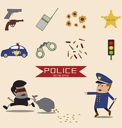 Set police element vector