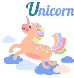 UnicornL vector image vector image