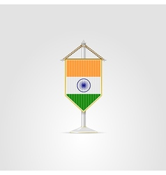 national symbols of South Asia countries India vector image