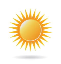 Power Sun Logo vector image vector image