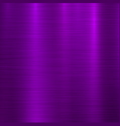 violet metal technology background vector image