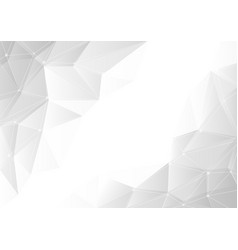 abstract gray gradient geometric background vector image