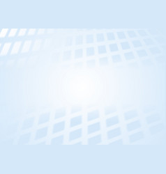 abstract light blue squares tech perspective vector image