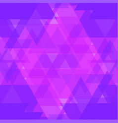 bright purple and pink triangles in the vector image