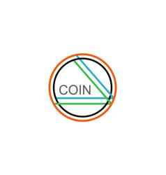 Coin - altcoin crypto vector
