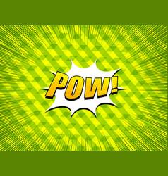 Comic explosive concept vector