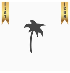 Palm icon in vector image