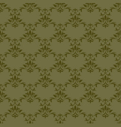 Seamless floral pattern for background design vector