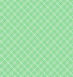 Seamless cross green shading diagonal pattern vector image vector image