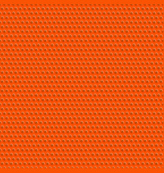 texture and seamless pattern of basketball ball vector image