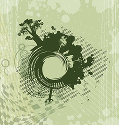 background with abstract image vector image vector image