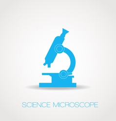 Microscope icon Simple vector image