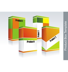 Box- packaging vector image vector image