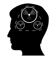 mechanics of human mind vector image