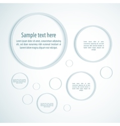 system circle color loop business vector image vector image