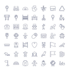49 small icons vector