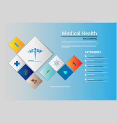 abstract background medical health care pharmacy vector image