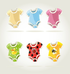 babies clothes vector image