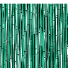 Background with a bamboo Bamboo branches stalks vector