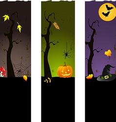 for Halloween vector image