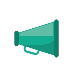 Isolated megaphone device design vector