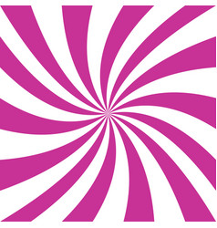 pink and white spiral design background vector image