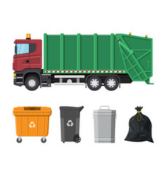 Recycling and utilization equipment vector