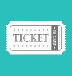 Ticket template vector