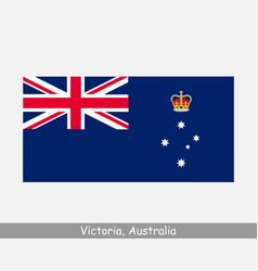 Victoria australia australian state flag vic au vector