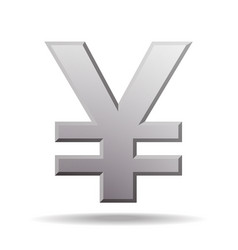 yen currency symbol vector image