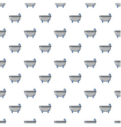 bathtub pattern seamless vector image