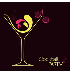 Cocktail vector