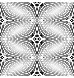 Design seamless monochrome decorative patte vector