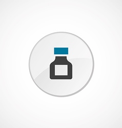 Drugs icon 2 colored vector