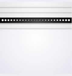 Grey striped technology background vector